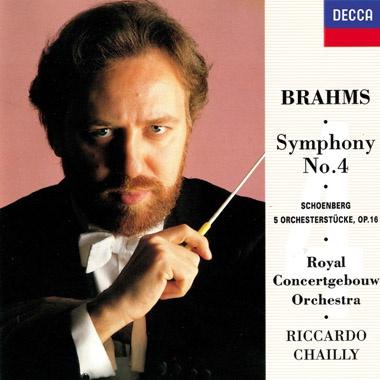 Brahms: Symphony No.4 / Schoenberg: 5 Orchestral Pieces