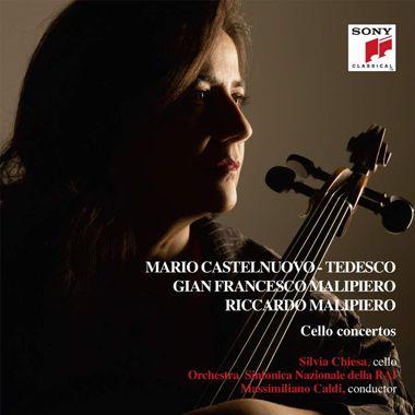 Malipiero, Castelnuovo-Tedesco, Cello concertos